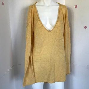 Moda international high low sweater Sz XL (M-2)